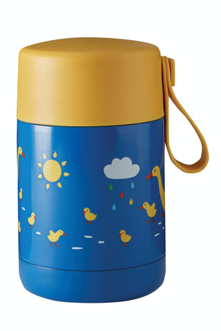 Image of Frugi Yummy Insulated Food Flask - Runner Ducks