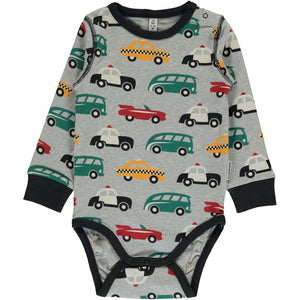 Maxomorra Long Sleeve Body - Traffic