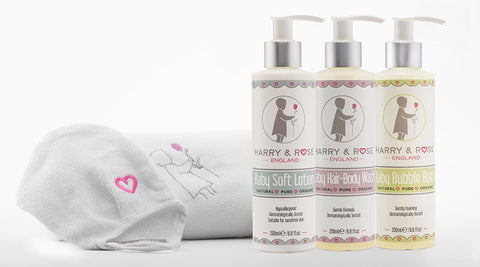 Harry & Rose - Baby Soft Lotion - Tilly & Jasper