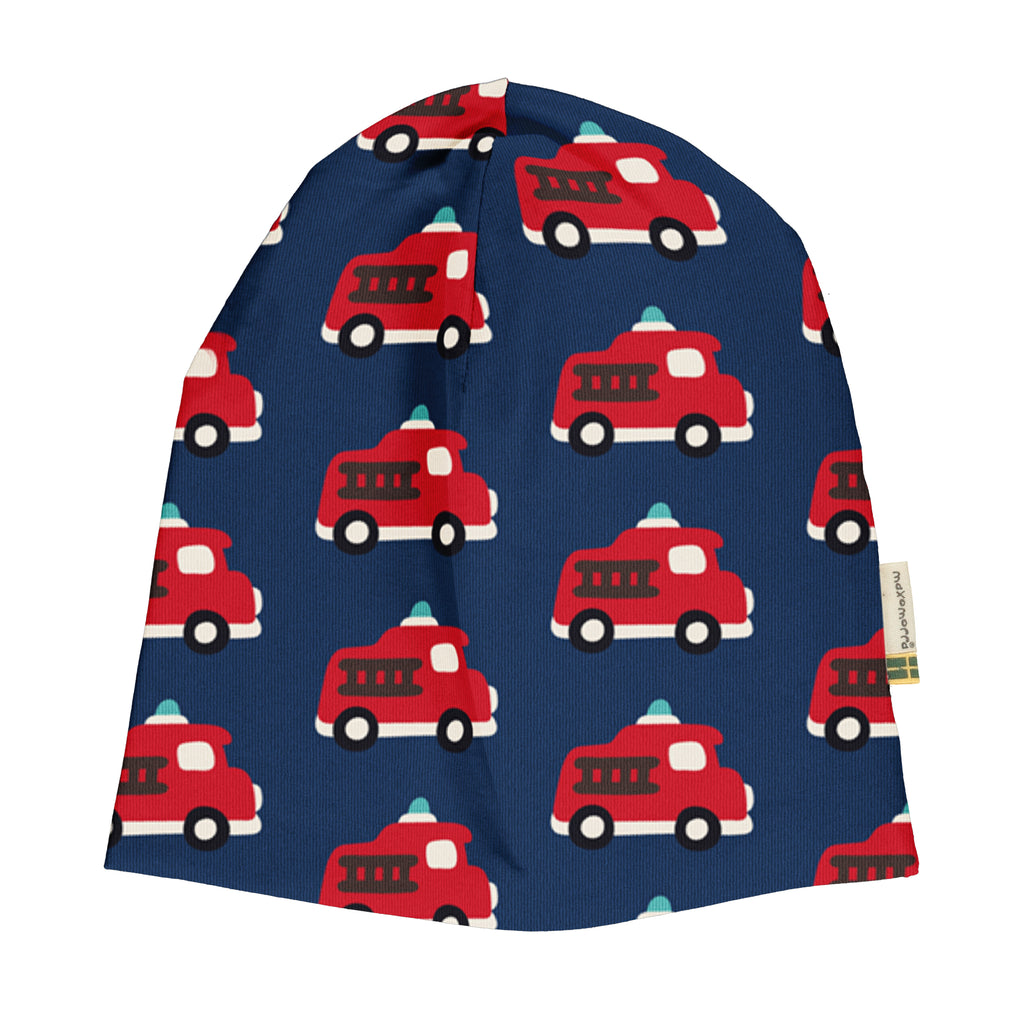 Maxomorra Velour Hat - Fire Truck