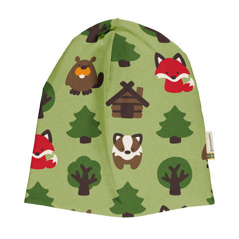 Maxomorra Velour Hat -  Green Forest