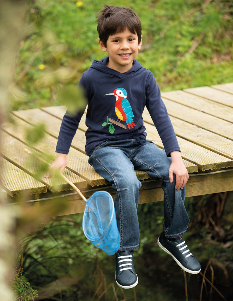 Frugi Cody Comfy Jeans - Light Wash Denim