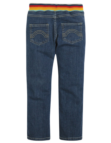 Image of Frugi Cody Comfy Jeans - Light Wash Denim - Tilly & Jasper