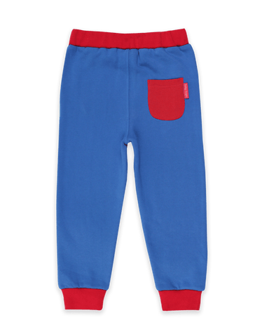 Image of Toby Tiger Organic Blue Joggers