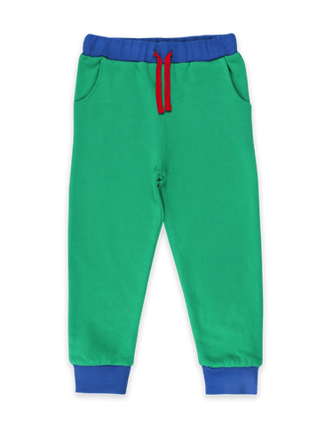Image of Toby Tiger Organic Green Joggers