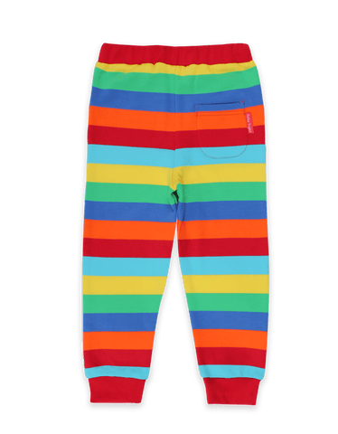 Image of Toby Tiger Organic Multi Stripe Joggers