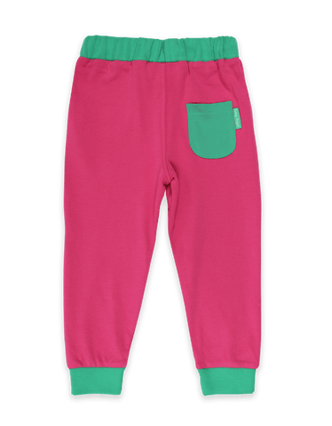 Image of Toby Tiger Organic Pink Joggers