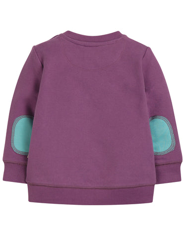 Image of Frugi Jump About Jumper - Amethyst/Dodo - Tilly & Jasper