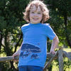 Image of Kite Blue whale T-shirt - Organic Cotton