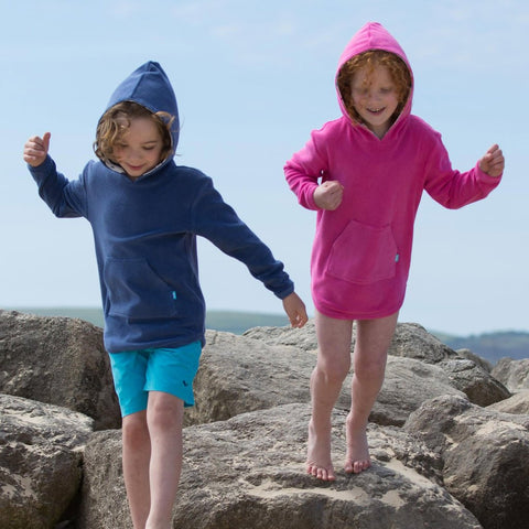 Image of Kite Beach Cover-up - Navy - Tilly & Jasper