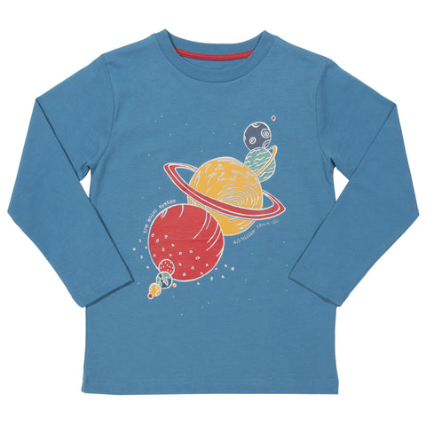 Kite Solar System T-shirt - Organic Cotton