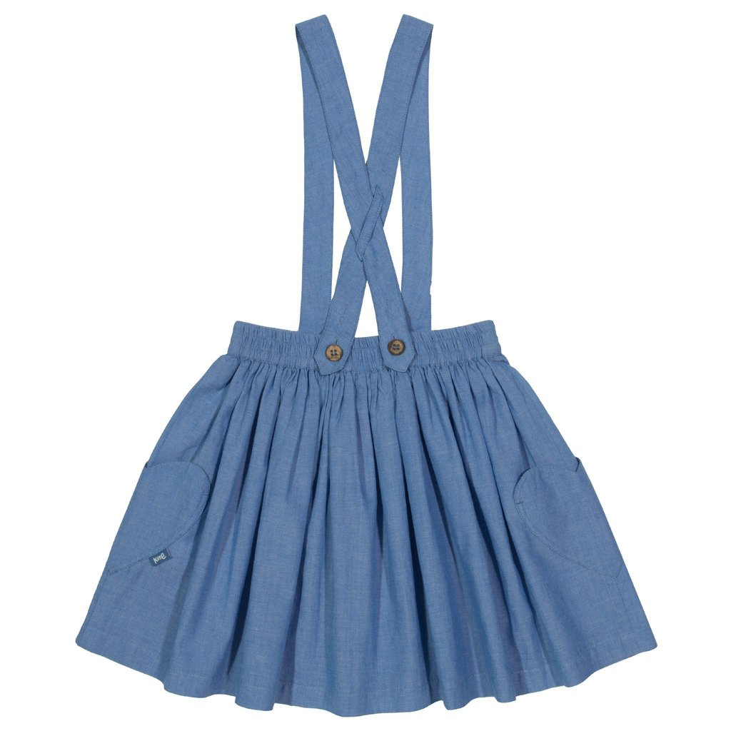 Kite Chambray skirt - Organic Cotton