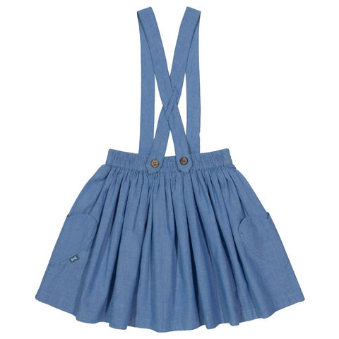 Image of Kite Chambray skirt - Organic Cotton