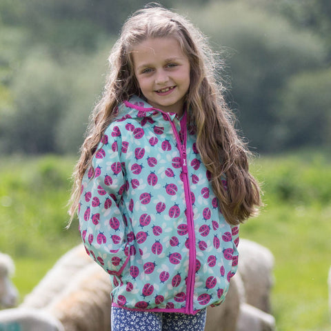Image of Kite Puddlepack Jacket - Ladybird - Tilly & Jasper