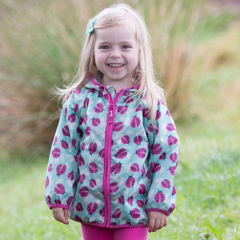 Image of Kite Puddlepack Jacket - Ladybird