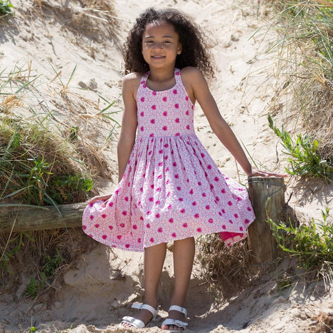 Image of Kite Broderie best dress - Organic Cotton