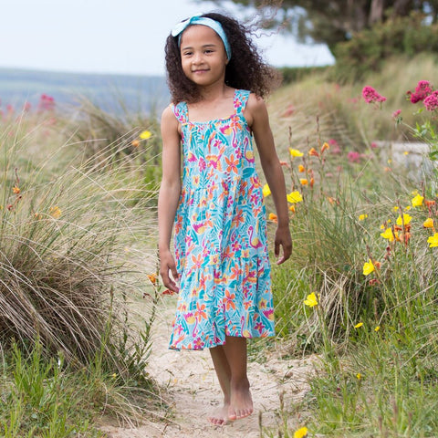 Image of Kite Rainforest sundress - Organic Cotton