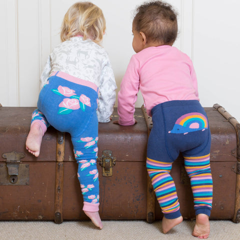 Kite Rose Leggings - Organic Cotton
