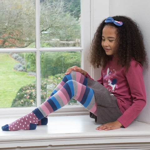 Image of Stripy Pegasus Leggings