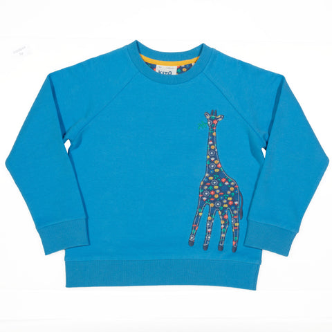 Image of Kite Giraffe Sweatshirt - Tilly & Jasper