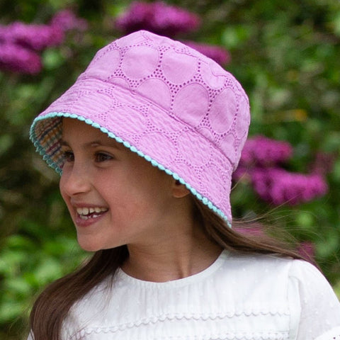 Image of Kite Seersucker Sun Hat