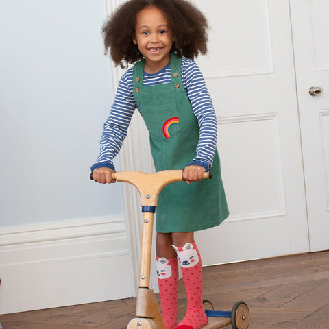 Image of Kite Rainbow Pinafore