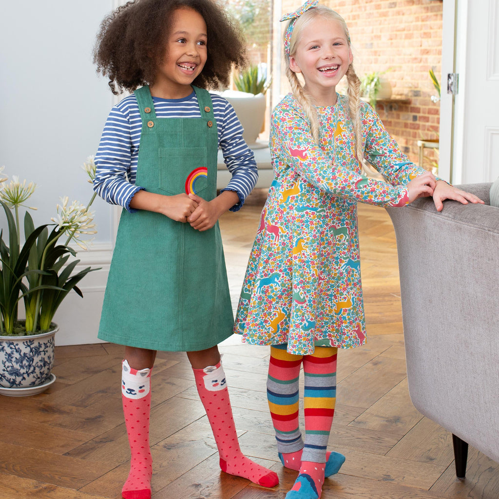Kite Rainbow Pinafore
