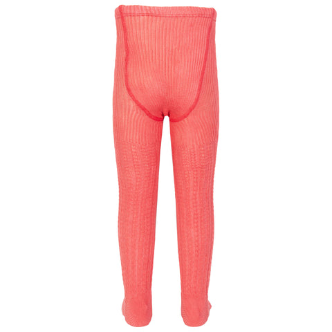 Kite Cable Rib Pink Tights