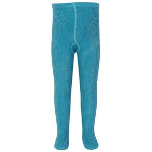 Kite Cable Rib Blue Tights