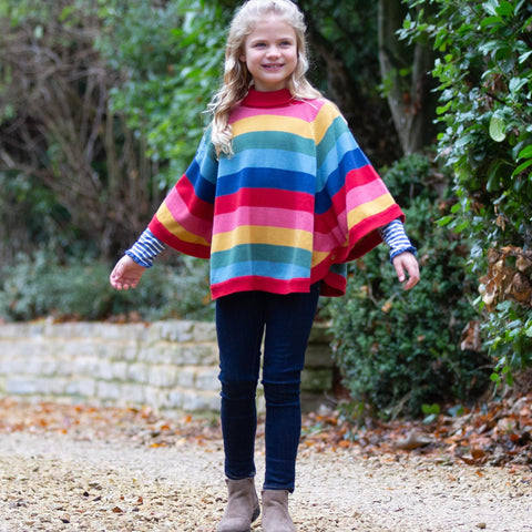 Image of Kite Rainbow Poncho