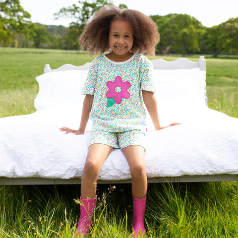 Image of Kite Wildflower Pyjamas (Short)