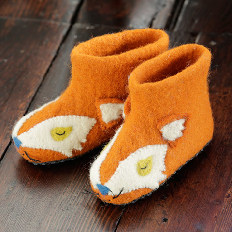 Piccalilly - Fox Slippers