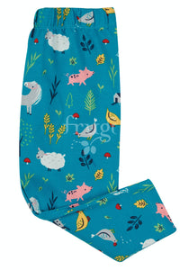 Frugi Libby Printed Leggings - Farmyard