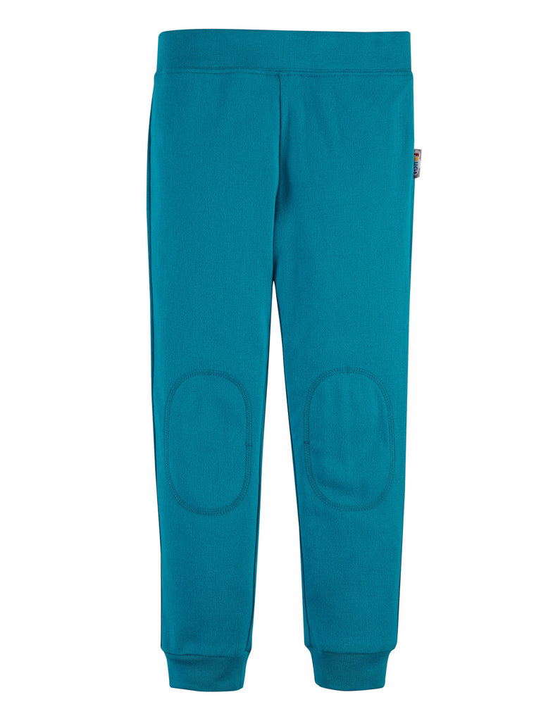 Frugi Everyday Cuffed Legging - Tobermory Teal