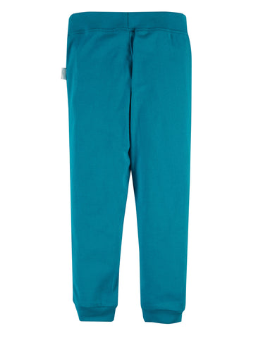 Image of Frugi Everyday Cuffed Legging - Tobermory Teal