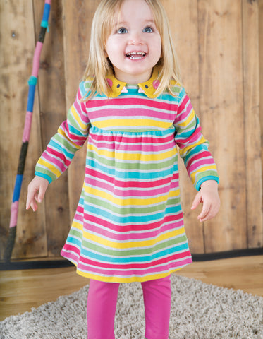 Image of Frugi Libby Leggings - Flamingo