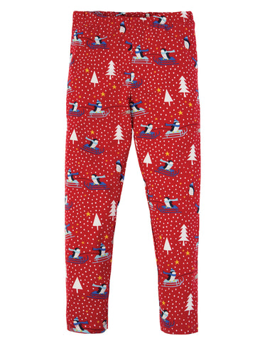 Frugi Libby Printed Leggings - Penguin Play