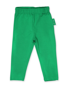 Toby Tiger Organic Green Basic Leggings