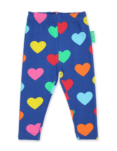 Toby Tiger Multi Heart Print Leggings