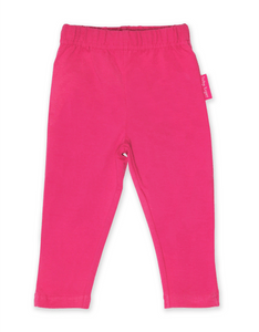 Toby Tiger Organic Pink Basic Leggings