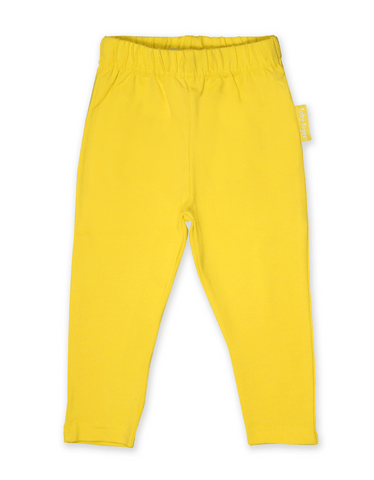 Toby Tiger Organic Yellow Basic Leggings