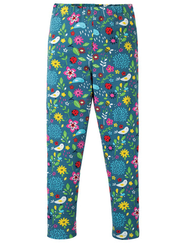 Image of Frugi Libby Printed Leggings - Garden Friends