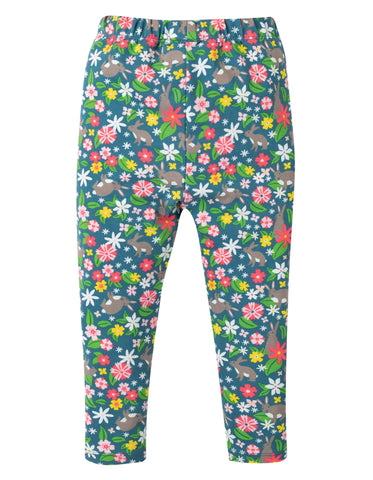 Image of Frugi Libby Printed Leggings - Rabbit Fields