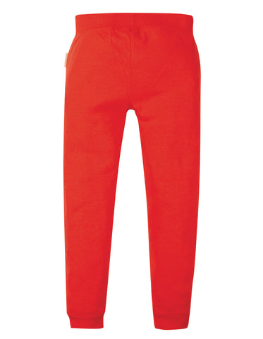 Frugi Cuffed Leggings - Koi Red