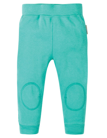 Frugi Cuffed Leggings - Pacific Aqua