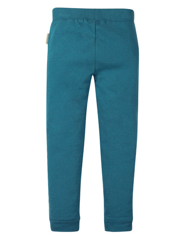 Image of Frugi Cuffed Leggings - Steely Blue