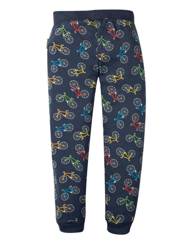 Image of Frugi Leap About Legging - Indigo Rainbow Rides