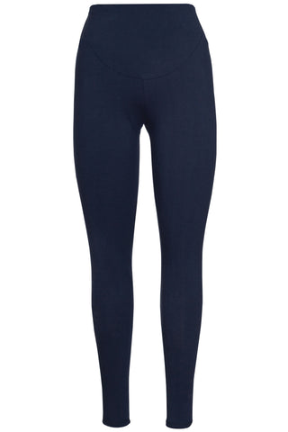 Image of Frugi Roll Top Yoga Pants - Indigo