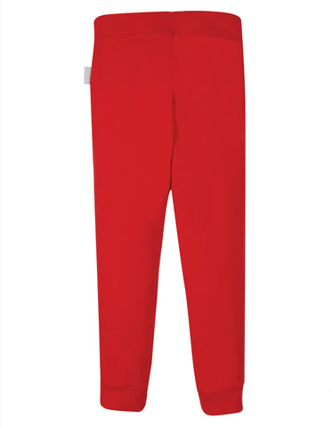 Image of Frugi Everyday Cuffed Legging - True Red