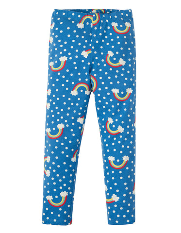 Frugi Libby Printed Leggings - Over The Rainbow - Tilly & Jasper